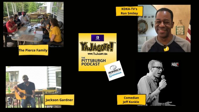 YaJagoff Podcast Collage of Guests