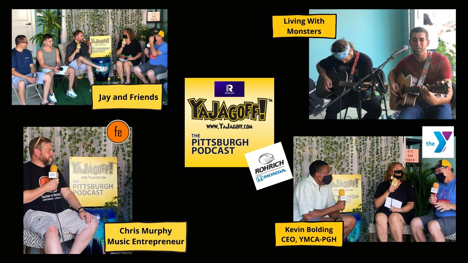 YaJagoff Podcast Pittsburgh YMCA