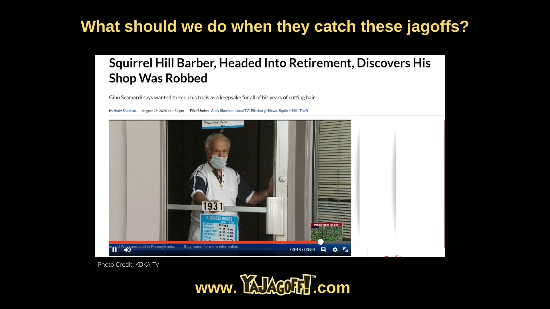 Barber Retirement spoiled