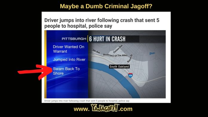 YaJagoff Podcast Dumb Criminal
