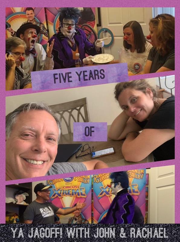 YaJagoff Blog and Podcast Anniversary