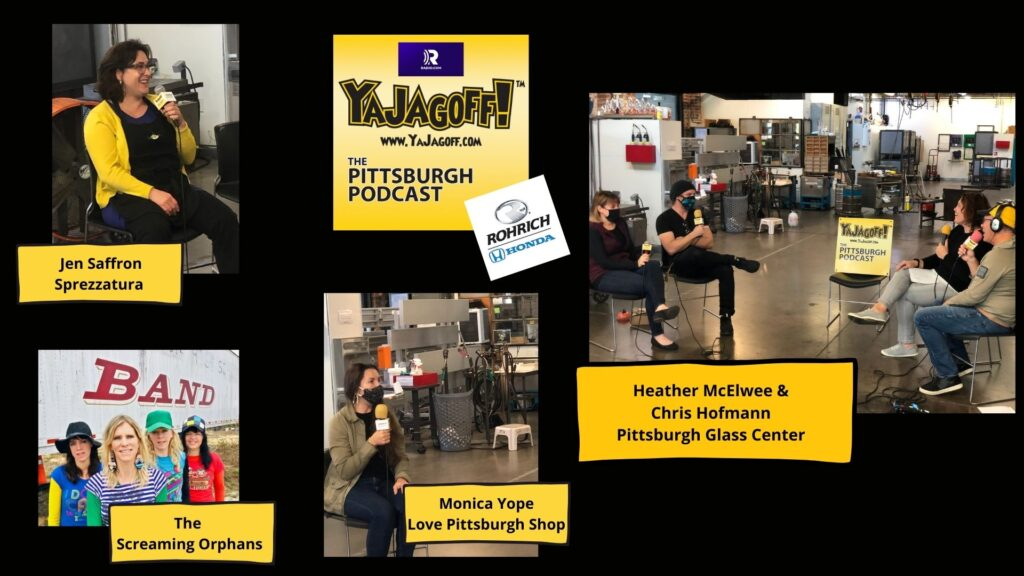 The YaJagoff Podcast at Pittsburgh Glass Center