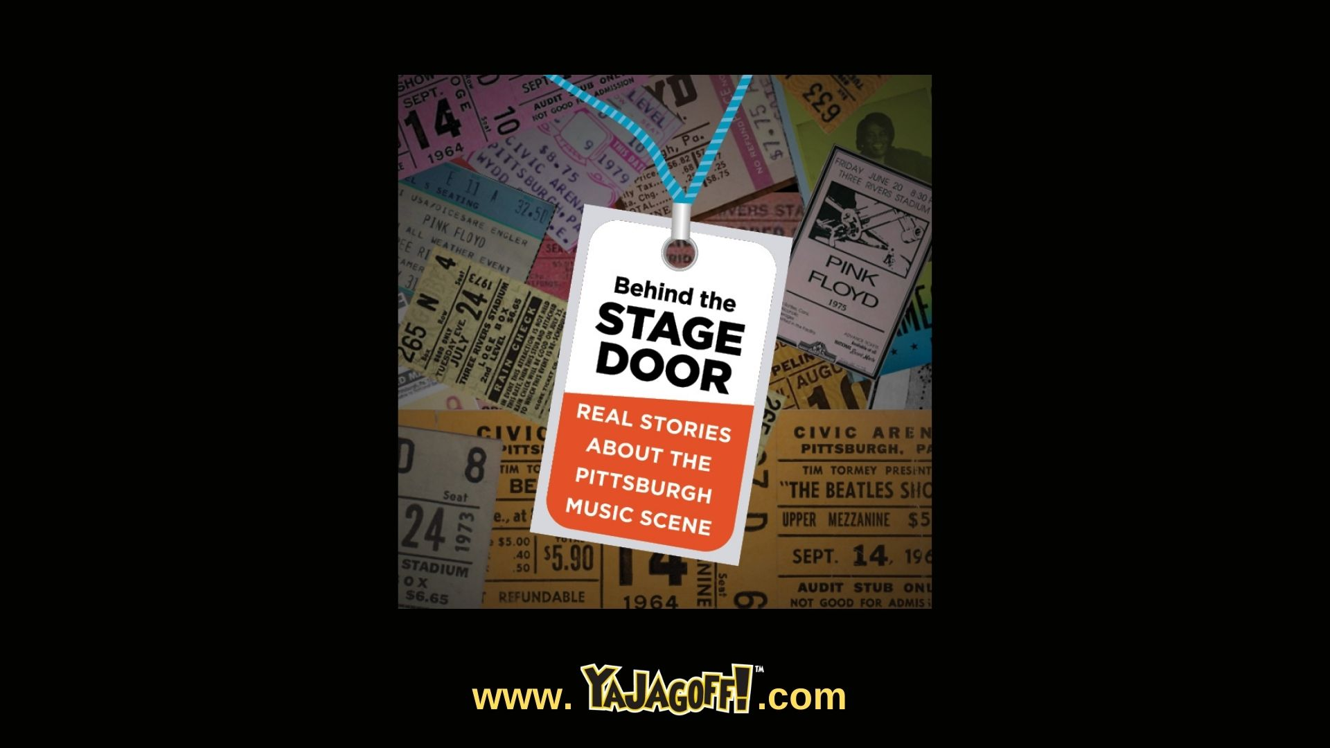 Doors Open Pittsburgh Back Stage Pass