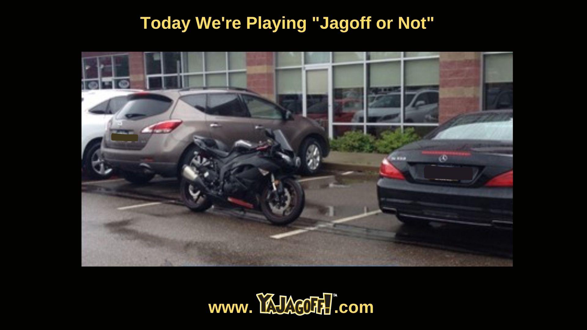 Jagoff Motorcycle rider