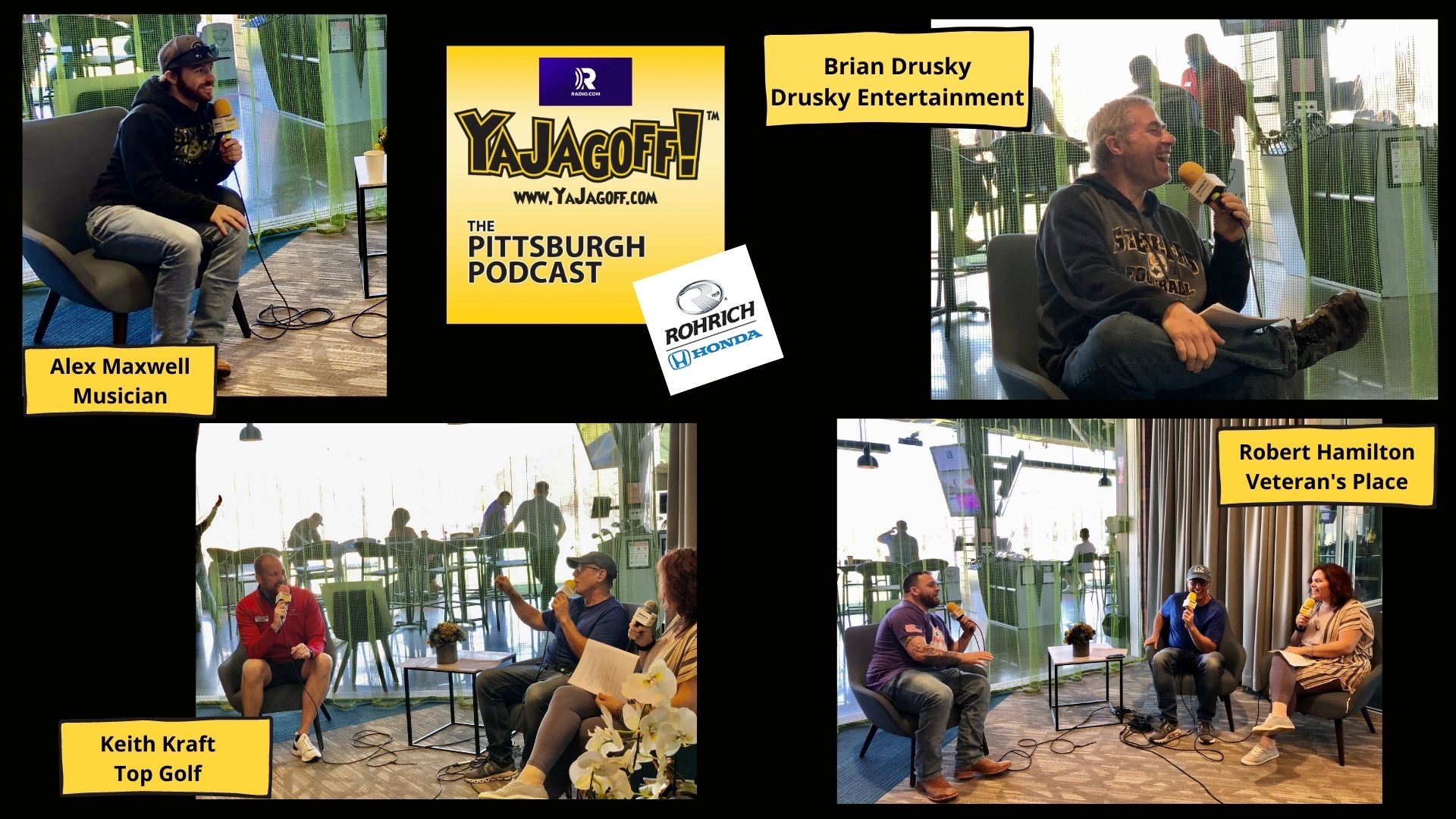 YaJagoff Podcast From Top Golf