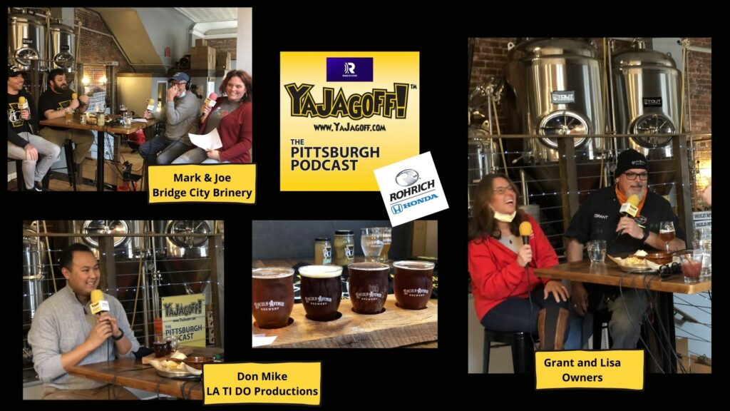 Pittsburgh Podcast Guest Collage
