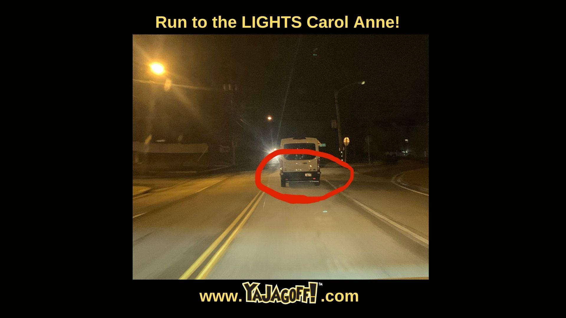 YaJAgoff Blog Post Van With No Lights
