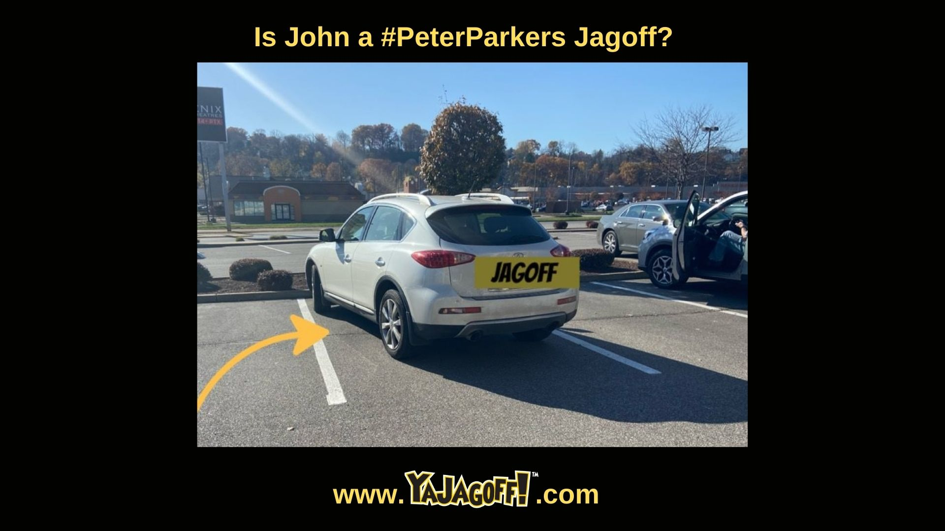 Jagoff Parking in Pittsurgh