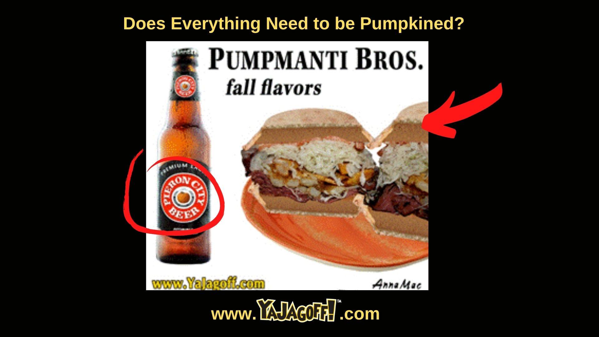 Primantis sandwich with pumpkin spice