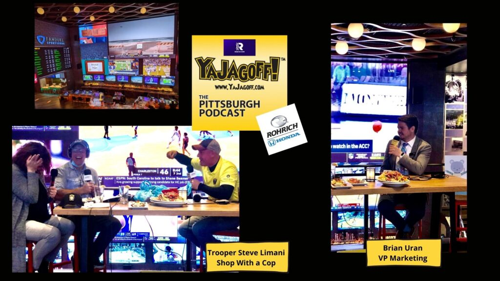 YaJagoff Podcast Collage of Guests Live Casino