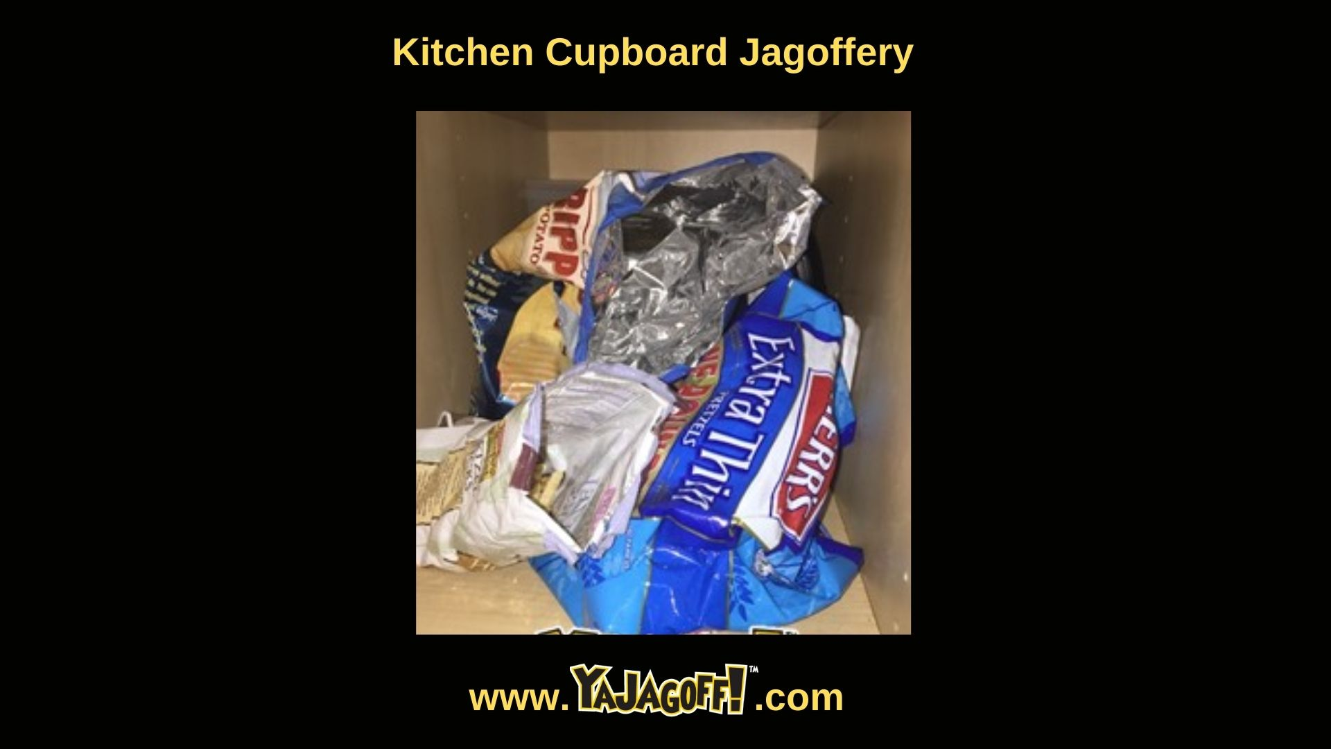 Jagoffs in the Kitchen with potato chips
