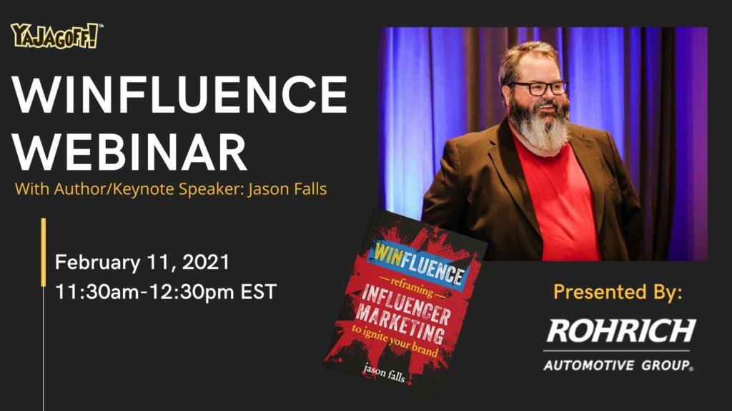 Jason Falls, Winfluence Webinar