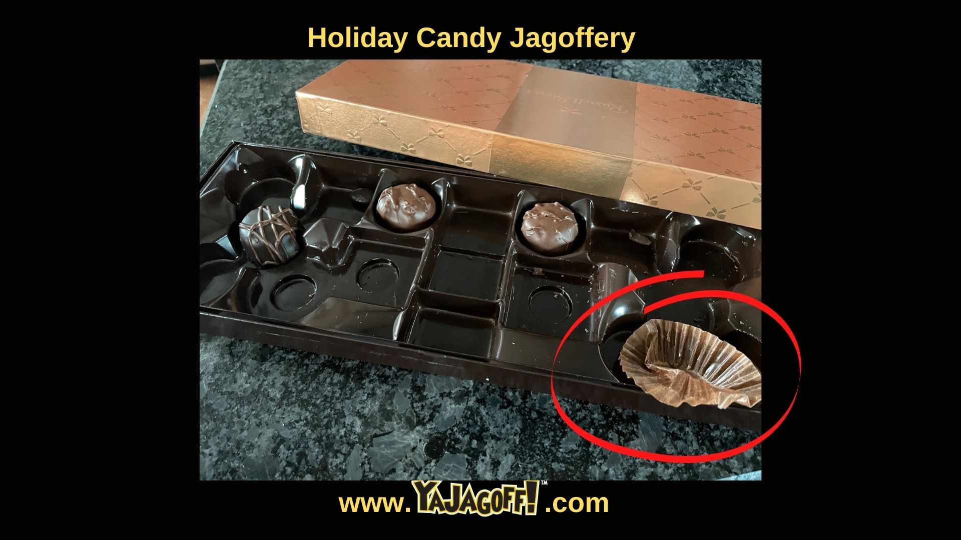 YaJagoff Blog about Holiday Candy