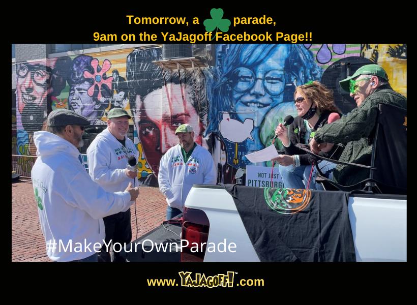 St patricks day parade post