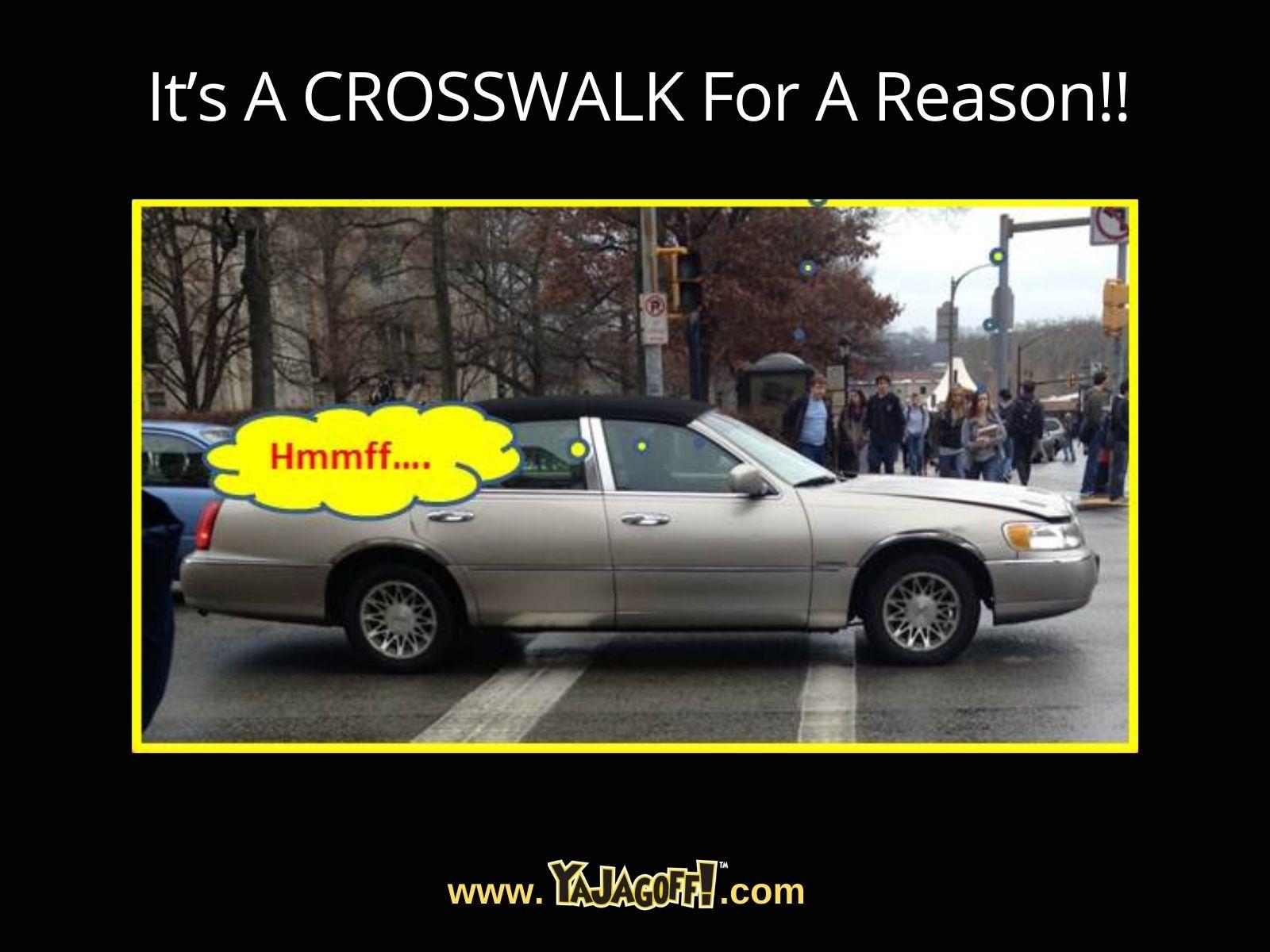 Pittsburgh Crosswalk Jagoffs