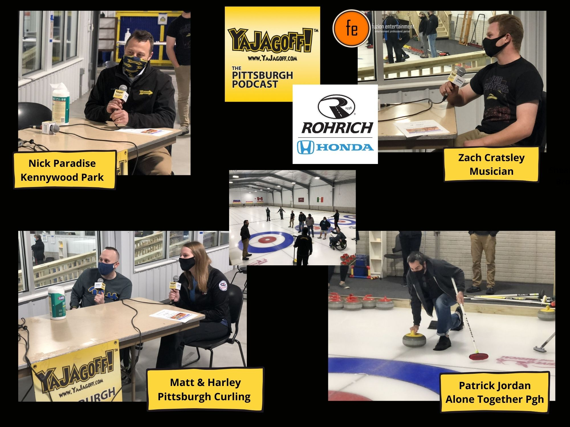 Pittsburgh Podcast at Pittsburgh Curling Club