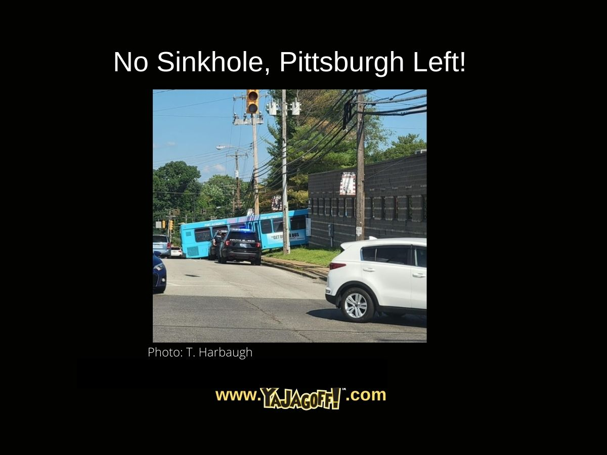 YaJagoff Blog - Bus Left