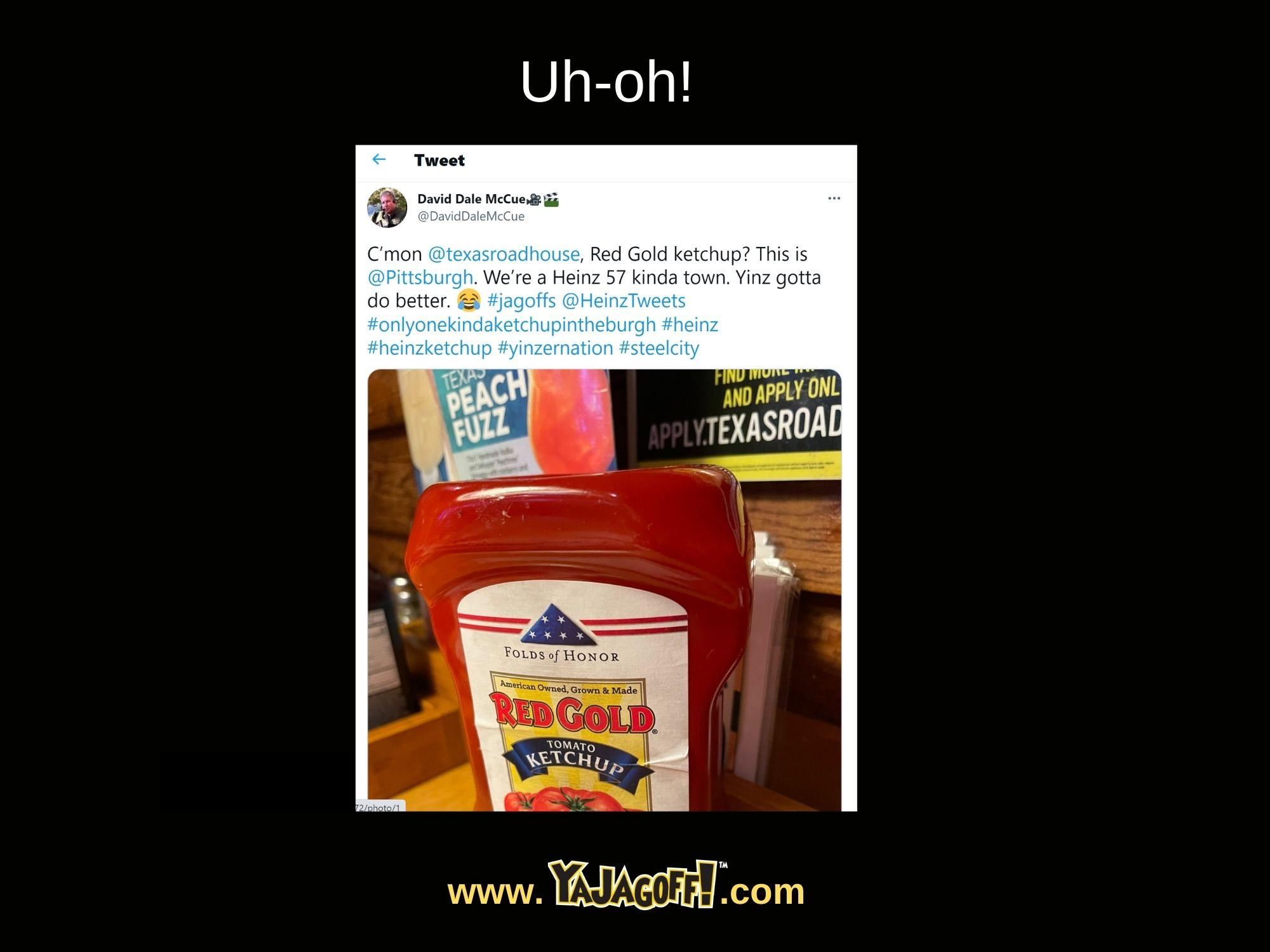 YaJagoff Blog Heinz Ketchup