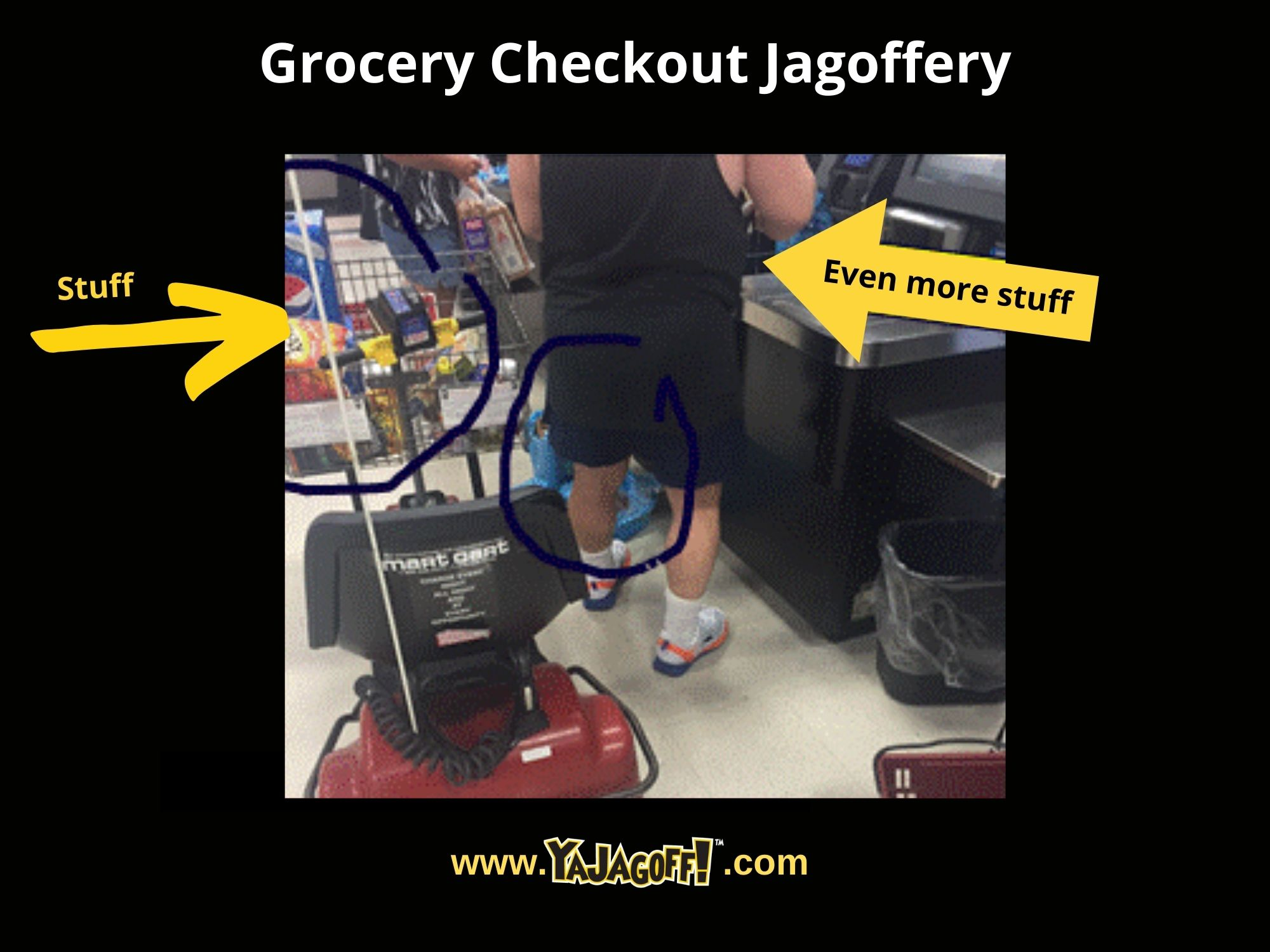YaJagoff Podcast Grocery shopping