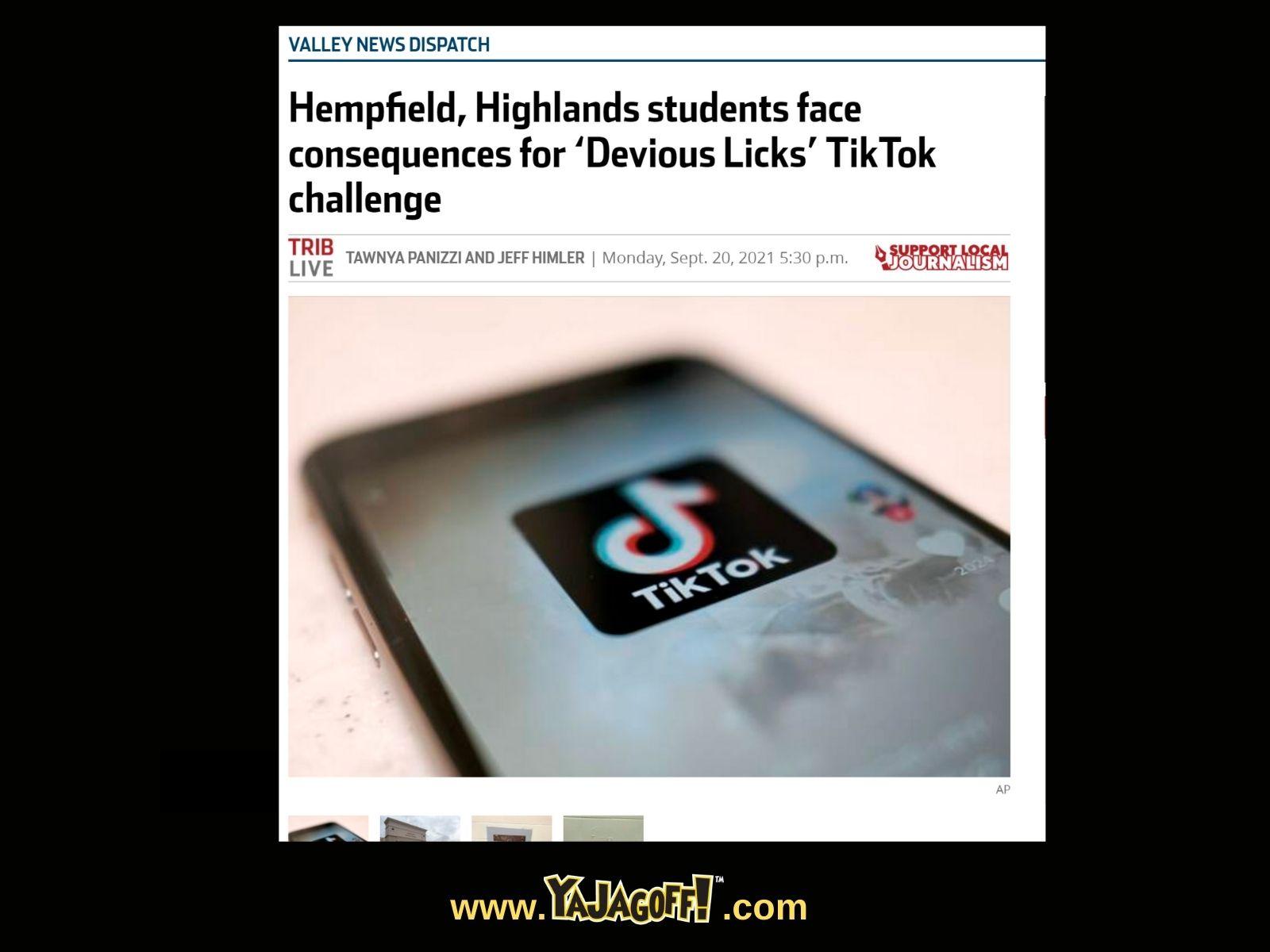TikTok Challenge Ruins Schools