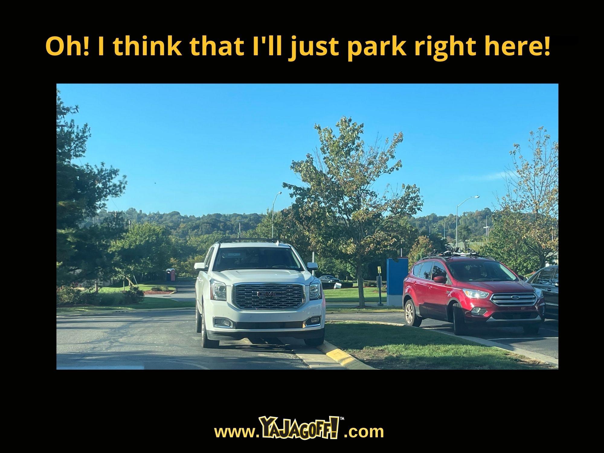 Jagoff Parking Sign